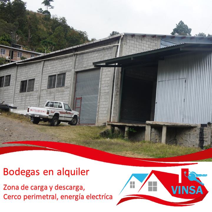 Bodegas en Alquiler Aldea Cerro Grande