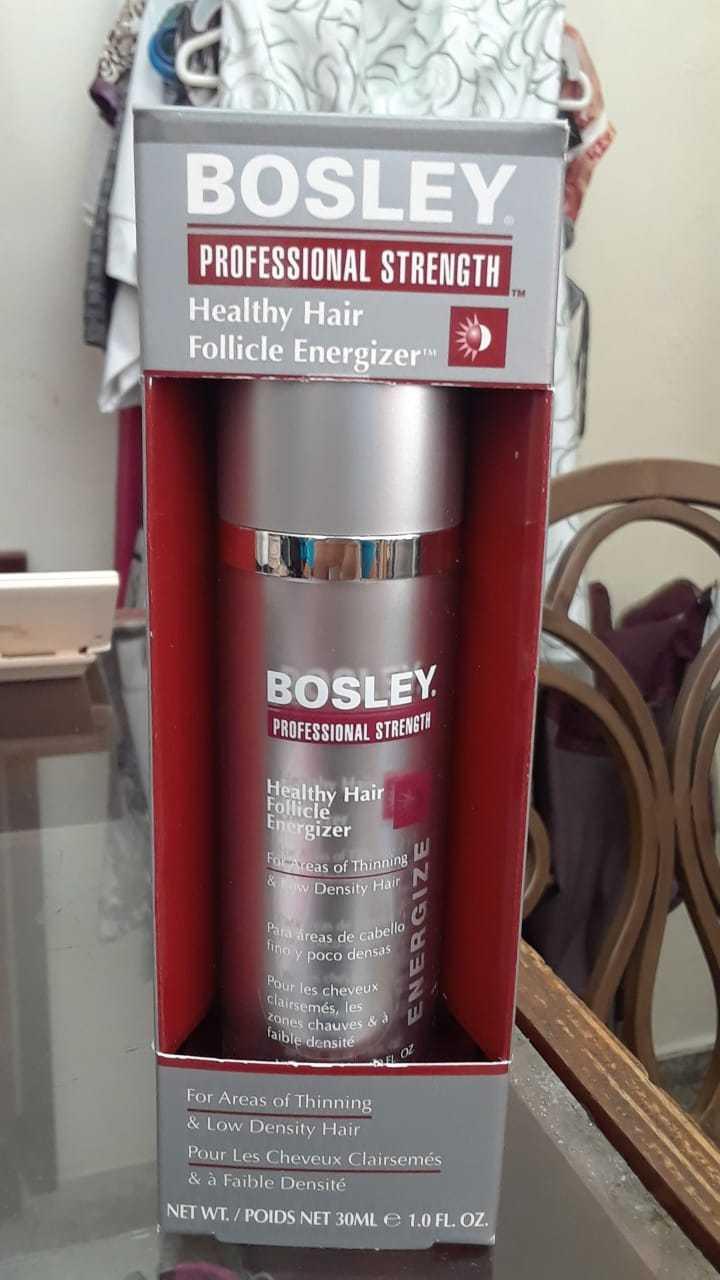 Bosley energizer  para darle el volumen deseado a tu cabello