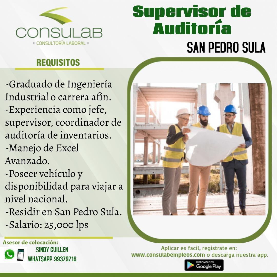 Supervisor de auditoria en S.P.S.