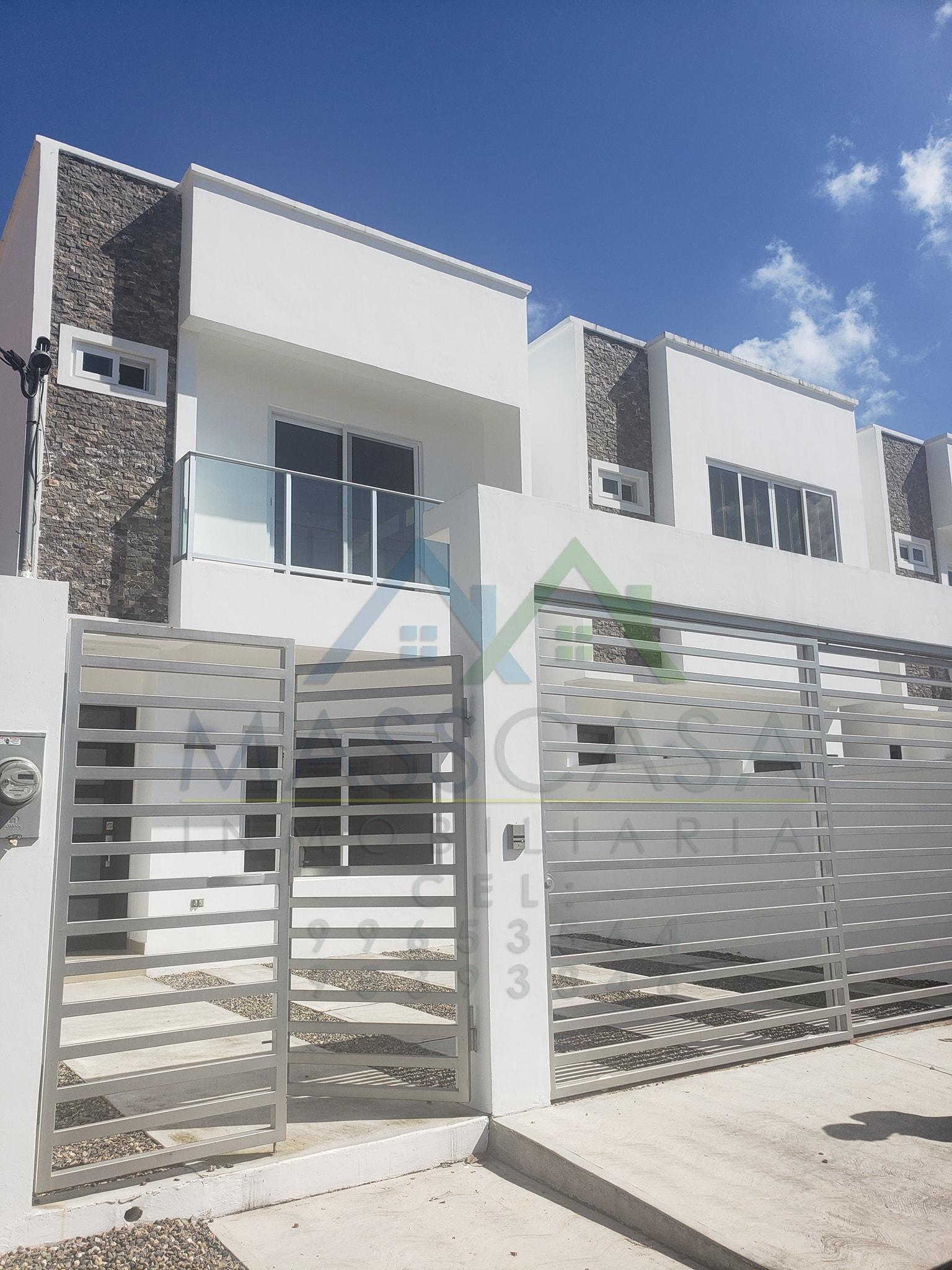 Modernas casas en renta