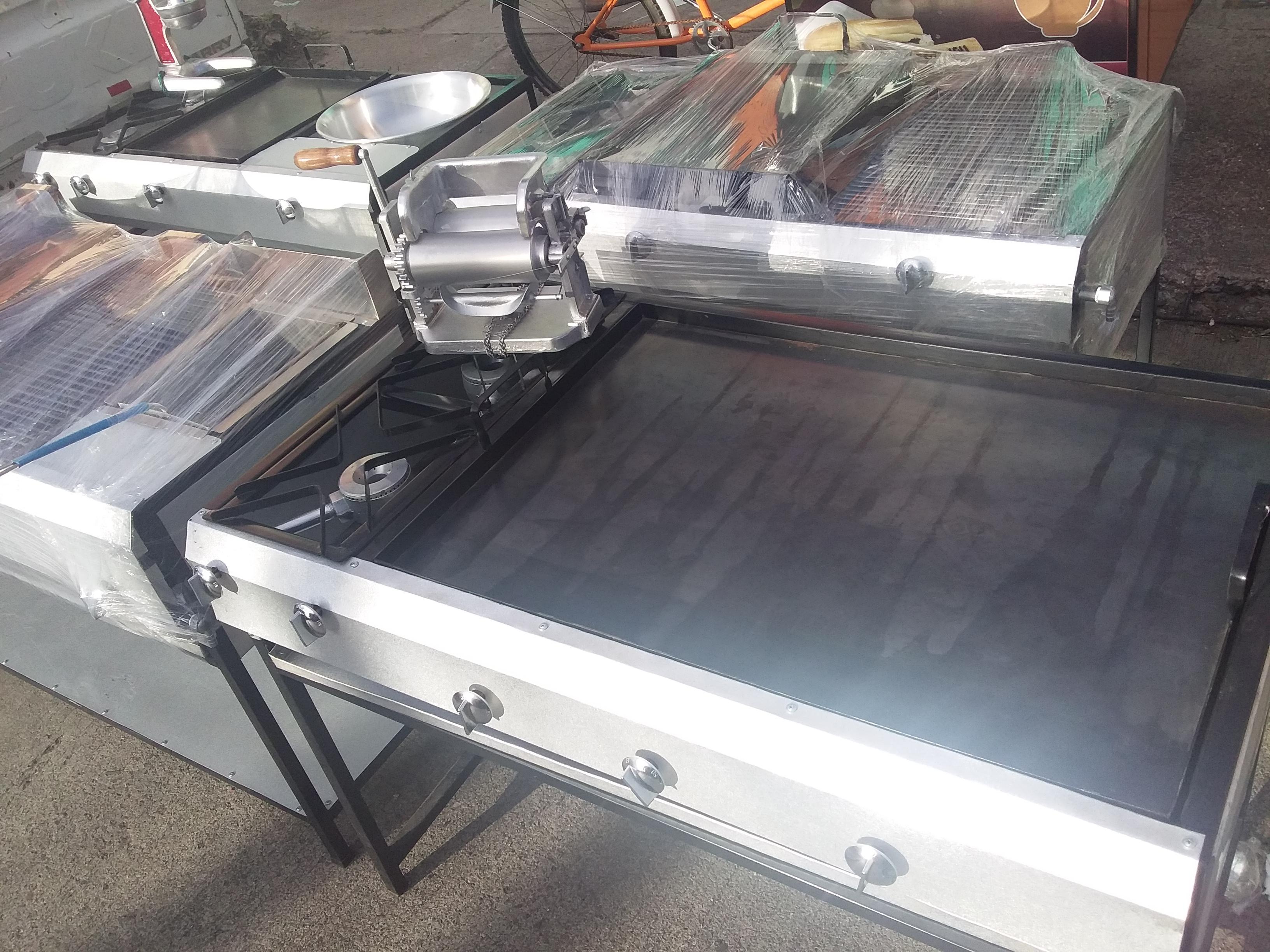 Estufas industriales, planchas de cocina, freidoras a precio accesible