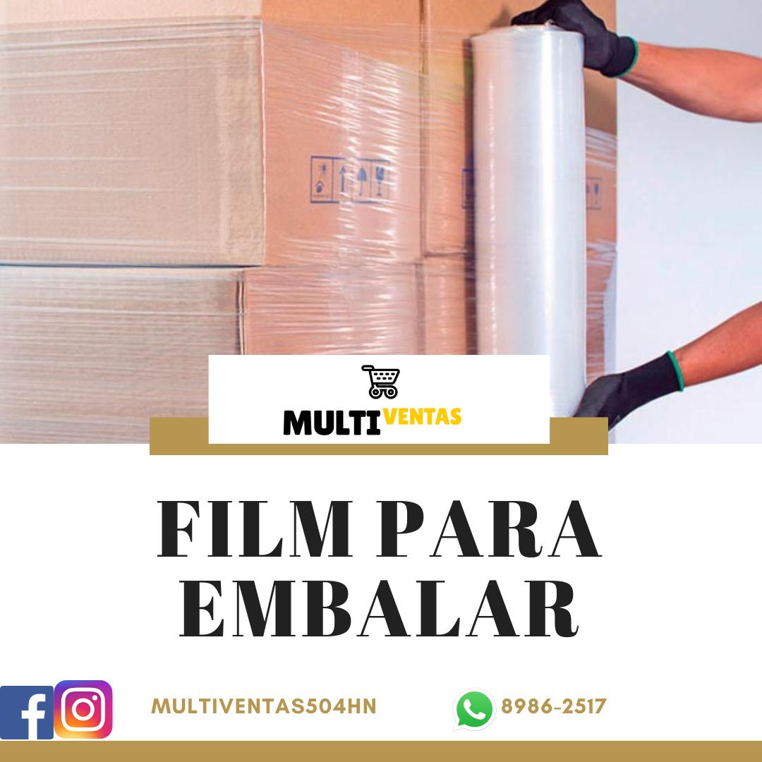 Film para Embalar certificado