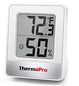 Higrómetro ThermoPro Humedad y Temperatura uso en Interiores