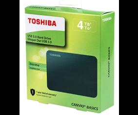 Disco Duro externo 4TB USB 3.0 Toshiba