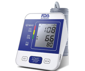 Monitor Digital presión arterial digital y frecuencia cardíaca