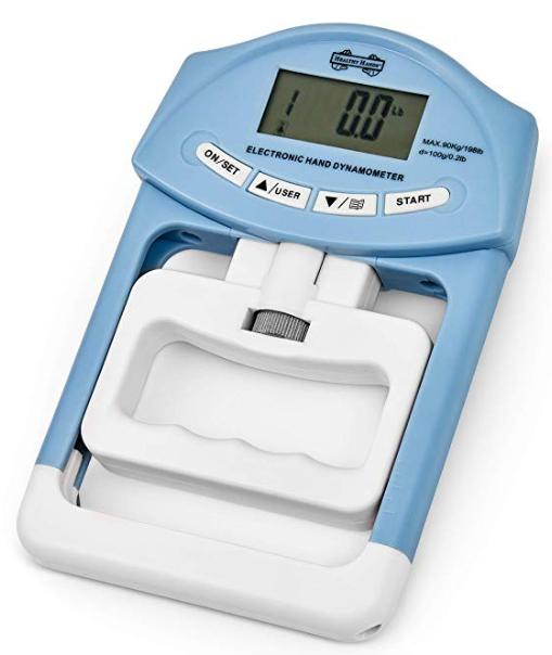 Dinamómetro digital Medidor de Fuerza de Agarre