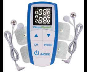 Dispositivo para aliviar el dolor 3 en 1 con 4 Electrodos