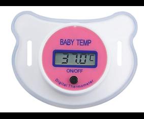 Termómetro digital para Bebe (Chupete) con pantalla LCD