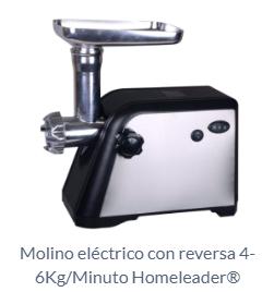 Molino eléctrico con reversa 4-6Kg/Minuto Homeleader®
